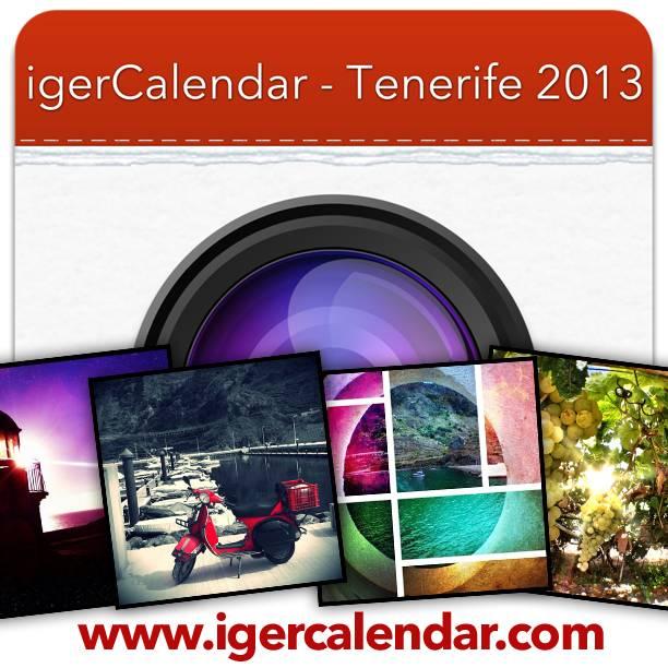 igerCalendar Tenerife, ¡calendario con fotos Instagram ya a la venta!