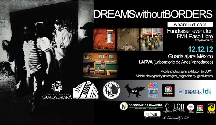 Dreams Without Borders Non Profit Exhibition in Mexico by JuXT