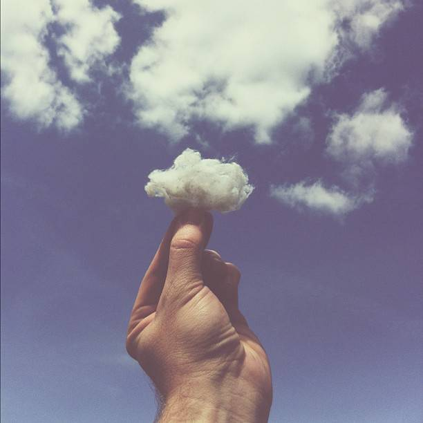 Brock Davis - Cotton Ball Cloud - Instagram