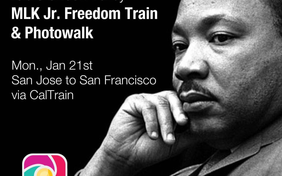 Instagramers Silicon Valley honoring slain civil rights leaders Martin Luther King Jr