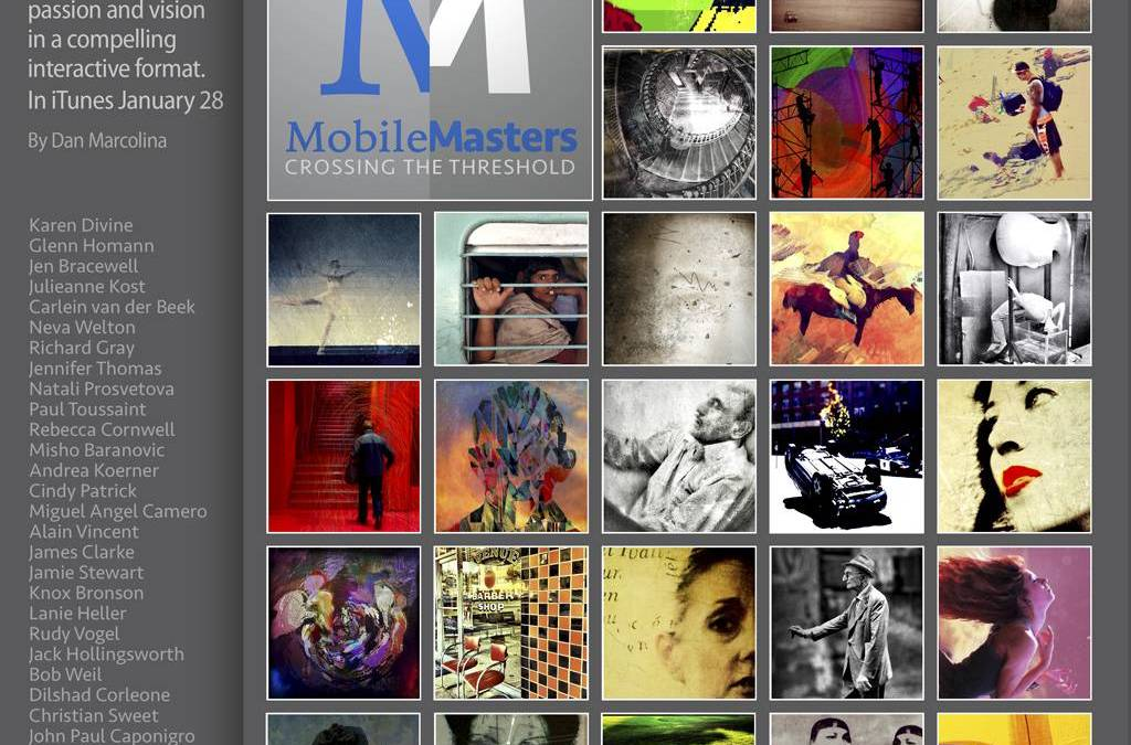 Dan Marcolina´s iPad eBook about Iphoneography to be presented at Mobile Master Session Tomorrow
