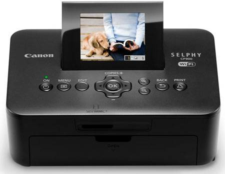 Instagramers tests the new Canon SELPHY CP900 compact photo printer