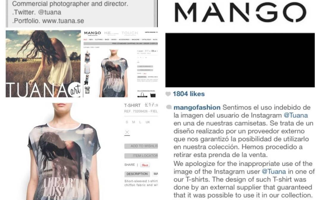 Foto de Usuario de Instagram en Camiseta – Mango Rectifica