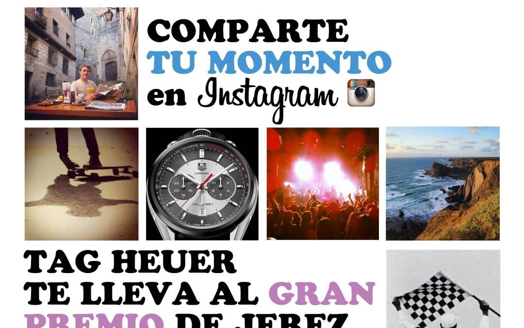 TAG Heuer te lleva al Gran Premio de Moto GP en Jerez con el concurso de Instagram #TAGyourMoment