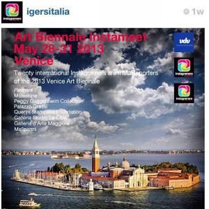 22 instagramers at la bienale italia veniezia