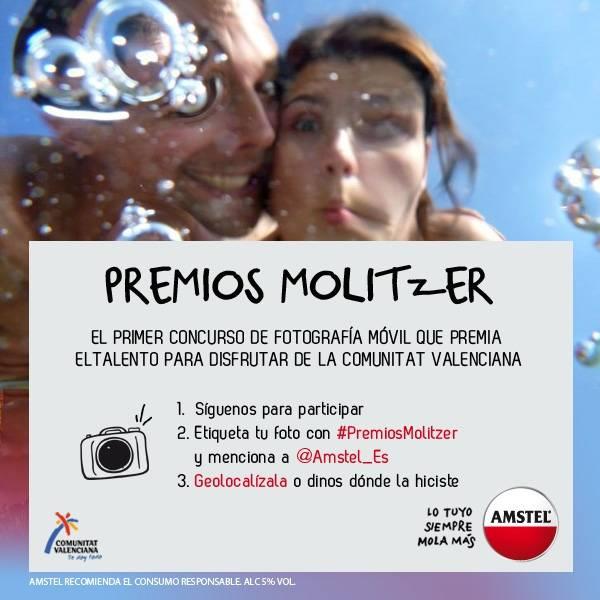 Llegan los #PremiosMolitzer, el primer concurso de fotografía móvil que premia el talento para disfrutar de la Comunitat Valenciana