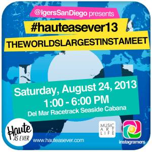 the world´s largest instameet in San Diego with Instagramers San Diego, august 24th