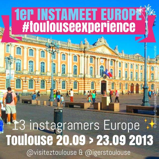Toulouse Experience is a mobile photography vision of Toulouse through 13 european instagramers pics