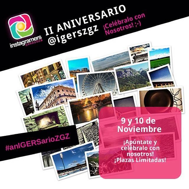 Instagramers Zaragoza Celebra su Segundo Aniversario a lo Grande