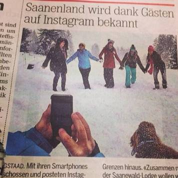 Let's Instagram Gstaad!