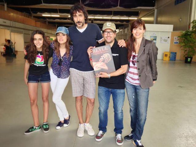 Eugenio Recuenco and family