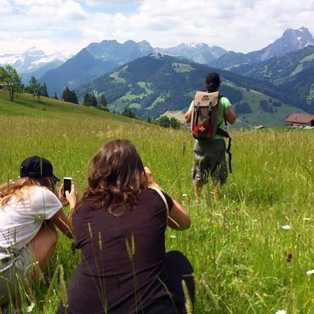First instameet with Instagramers Gstaad in Switzerland!