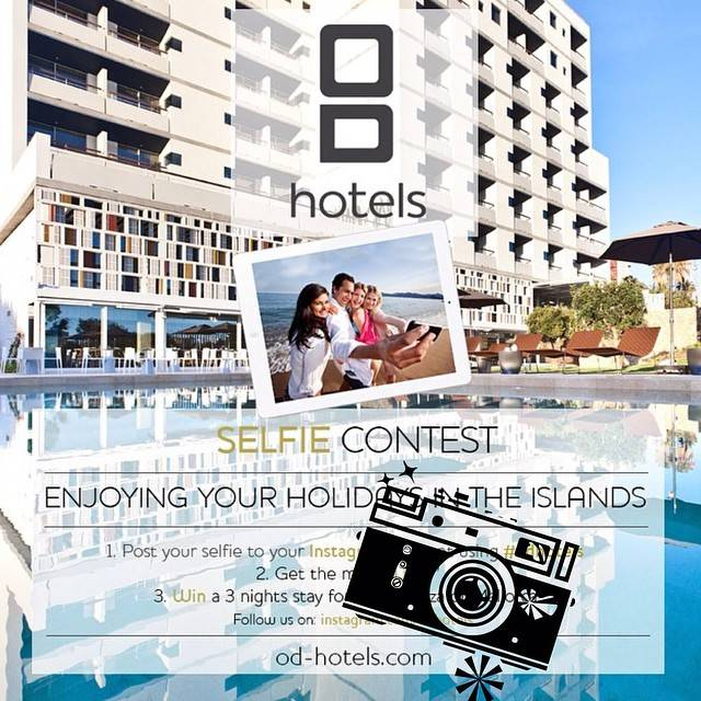 Take a selfie and win a 3-night stay at OD Hotels in Mallorca or Ibiza!