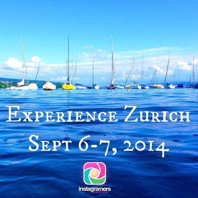 European and local instagramers discovered Zurich with IGersZurich and Zurich Tourismus