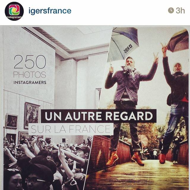 Instagramers France community announces the release of their first book! Un Autre Regard Sur La France