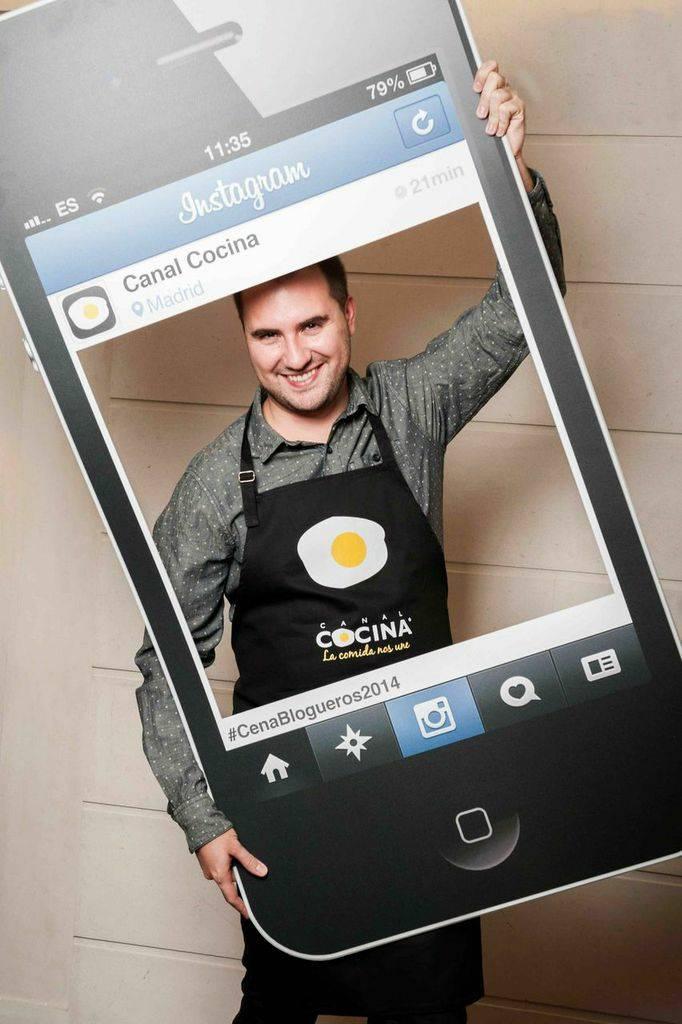 Juan Carlos es No solo dulces y @nosolodulces en Instagram