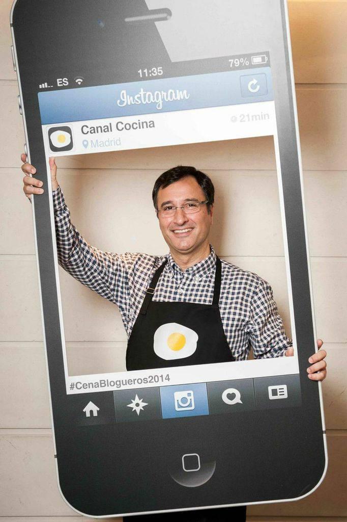 Juan Carlos de Gastronomía en verso es @ridente en Instagram