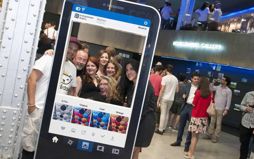 Instameet y Nueva Expo #YearsOdisea en #igersgallerymadrid !!
