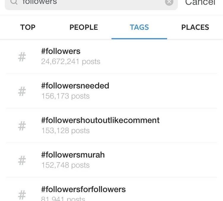 ¿Qué está pasando con mis seguidores en Instagram?