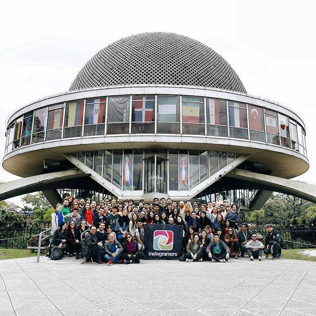 Fantástico Instameet en el Planetario de Buenos Aires con el equipo de Instagramers