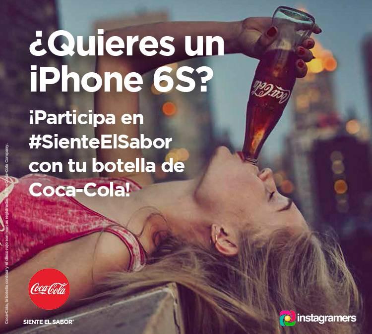 #SienteElSabor y gana un iPhone 6S de 64 GB o una cámara Sony DSC-QX10B Smartshot