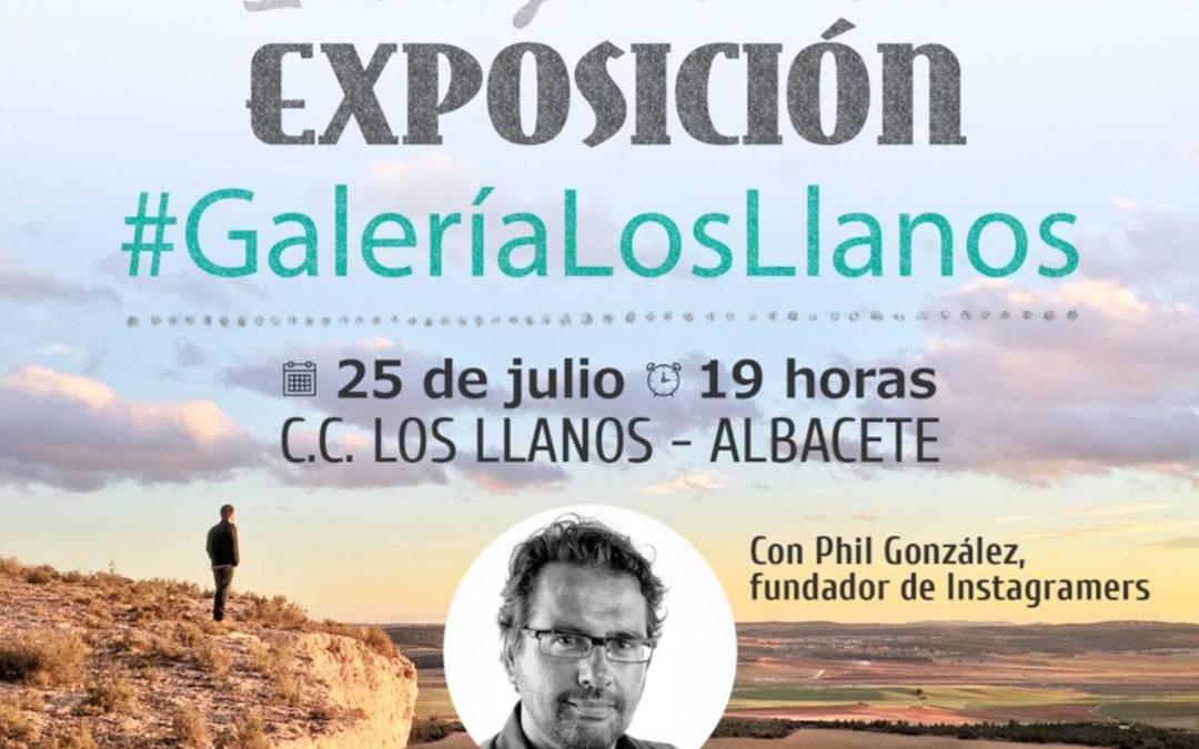 Inauguración de la #GaleriaLosLlanos en Albacete por los Instagramers Castilla La Mancha