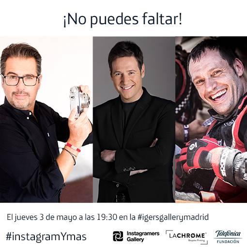 Presentación del libro Instagram y Más en la Instagramers Gallery con Carlos Latre