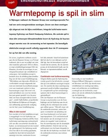 project energienotaloze woningen
