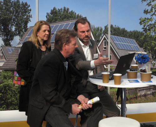 Henri Schoeman (r) op Solar Solutions 2016