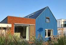 Active house met ventilatie en zonwering