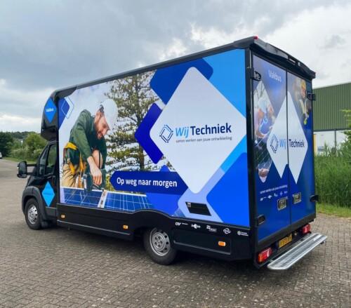 Vakbus rijdt online door