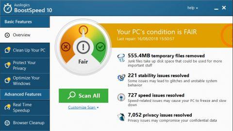 Auslogics BoostSpeed Pro 12.1.0.0 Crack + License Key Free Download