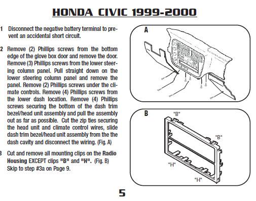 .2000-HONDA-CIVICinstallation Instructions