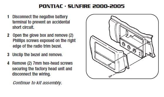.2002-PONTIAC-Sunfireinstallation Instructions