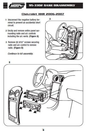 2006CHEVROLETHHRinstallation instructions