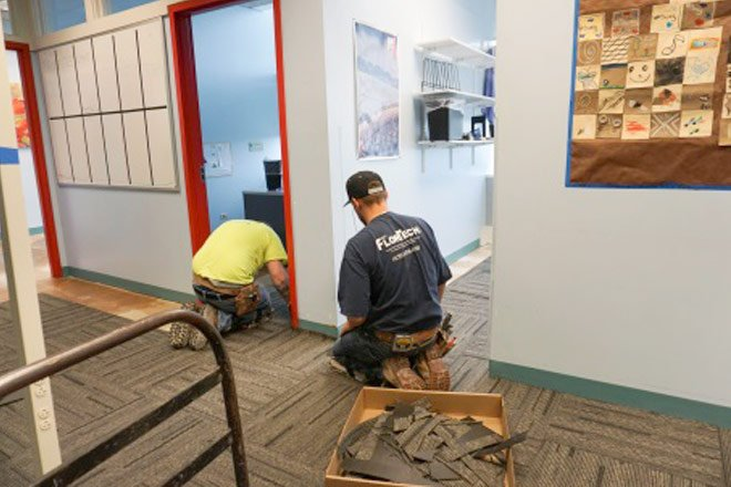 Chicago Regional Council of Carpenters donate time at Childrens Museum