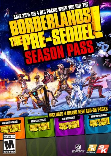 Borderlands: The Pre-sequel Highly Compressed Crack + Installation Key PC Game For Free Download