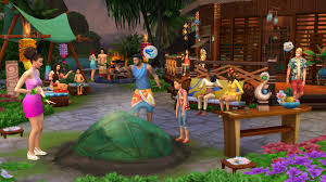 The Sims  Island Living Update Full Pc Game + Crack