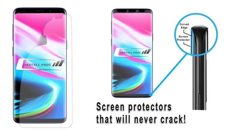 Galaxy Screen protector video start