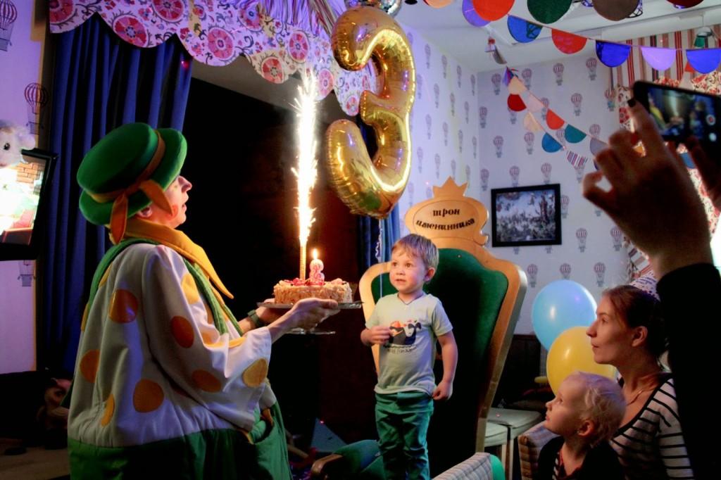 Детский день рождения в андерсоне