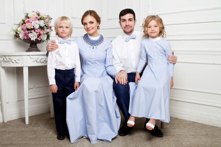 Платья family look от Mary Blank
