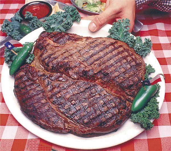 72-ounce steak