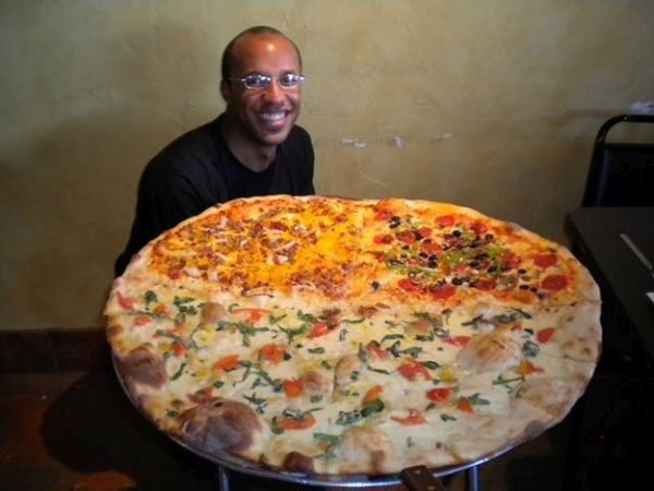 The 11-Pound Pizza Challenge