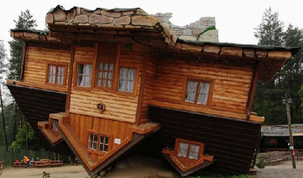 The Upside-Down House, Poland