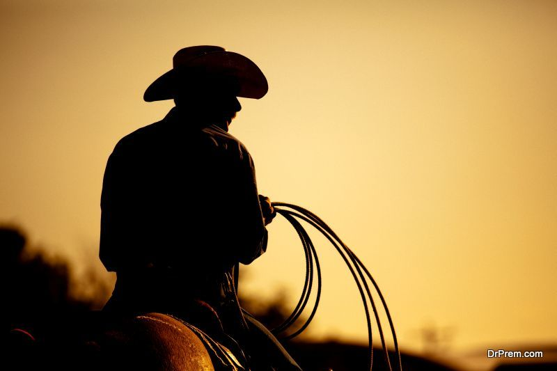 local cowboys compete