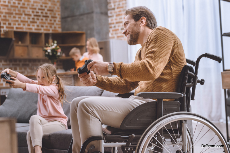 Video games for disabled