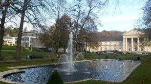 Der Eurogress Aachen liegt am Rande des Stadtparks unmittelbar neben dem Spielcasino