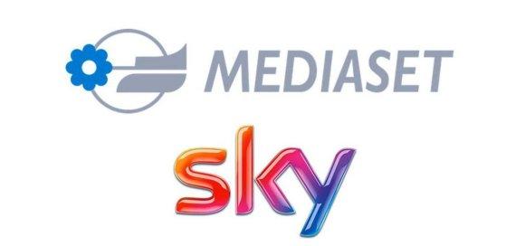 Mediaset e Sky