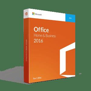 Office Home 2016 mac os