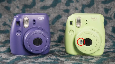 instax mini 8 vs mini 9